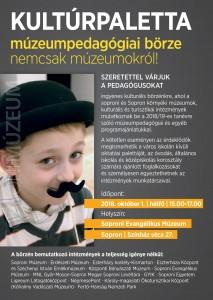 Muzeumpedagogiai borze 2018.10.01